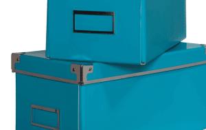 Lot de 2 boîtes SCHOOL Bleu de chez but au prix de 4,19€