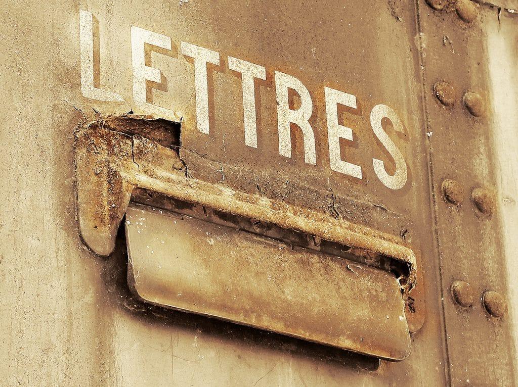 boite aux lettres bloquée